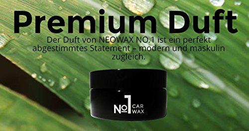 NEOWAX Car Wax №1 Autowachs mit 50% T1-Carnauba und SiO2 - mit Ultra Beading