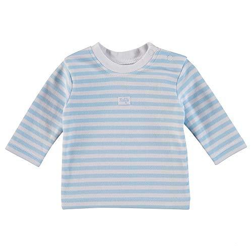 Feetje T-Shirt à Manches Longues pour bébé garçon Bleu/Blanc - Bleu - 1 Mois