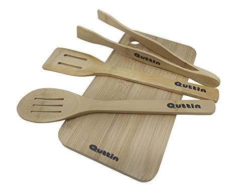 Quttin Bamboo Set Accesorios de Cocina.