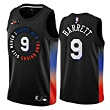 ZHMIAO Hombres Baloncesto Jerseys Barrett # 9 / Harper # 0 / Toppin # 1 / Pinson # 21 Knicks, Sports Jersey New Temporada Chaleco Sudadera de Baloncesto Fitness Casual Use A- XXL(185~190)