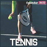 Tennis Calendar 2022: Official Tennis Calendar 2022, 18 Month Photo of Tennis calendar 2022, Mini Calendar