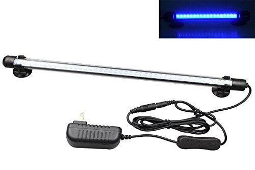 MingDak LED Aquarium Light for Fish Tanks,42 LEDs,14.5-inch,Blue…