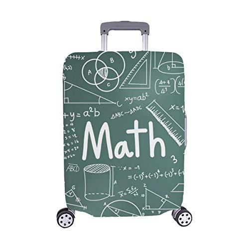(Solo Cubrir) Teoría matemática Fórmula matemática Ecuación Garabato Maleta de Viaje Maleta Protectora de Viaje Cubierta Protectora para 28.5 X 20.5 Inch