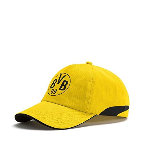 Puma BVB Training Cap Cap Cyber Gelb-Schwarz, Größenauswahl:OneSize
