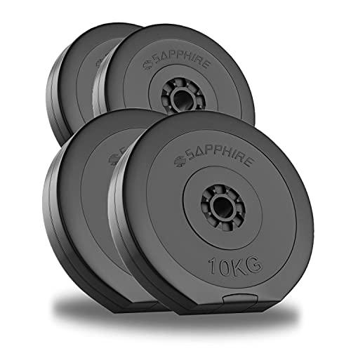 Xylo 30KG (2x5KG + 2x10KG) Hantel Set Gewichte Hantelscheiben Krafttraining NEU