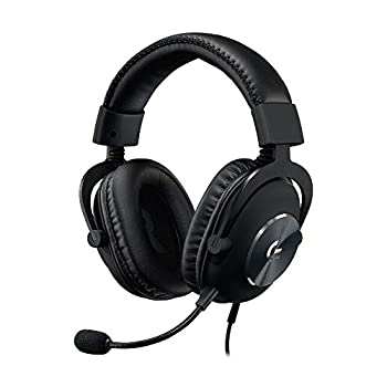 Logitech G PRO X Gaming Headset  2nd Generation  with Blue Voice DTS Headphone 7.1 and 50 mm PRO-G Drivers for PC Xbox One Xbox Series X|S,PS5,PS4 Nintendo Switch Black