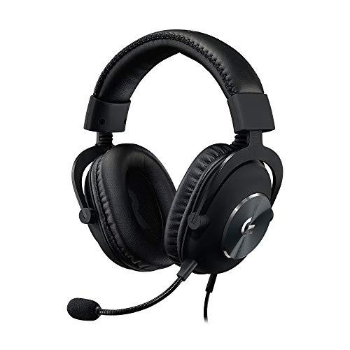 logitech Pro X Gaming Headset with Blue Voice Technology - Black