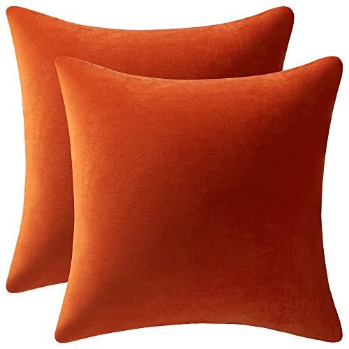 Cojín Naranja Sofa marca DEZENE