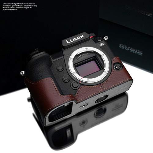 ILCE-7RM3 in Pelle Italiana Design Gariz Colore: Marrone Nuova Versione Modello XS-CHA7M3BRO Borsa per Fotocamera per Sony A7 III Sony Alpha 7 III ILCE-7M3 e Sony A7R III Sony Alpha 7R III