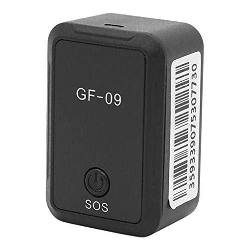 GF09 Mini GPS Rastreador Em Tempo Real, Carro, Animal De Estimação, Dispositivo De Rastreamento E Localizador De Espiões Anti-roubo