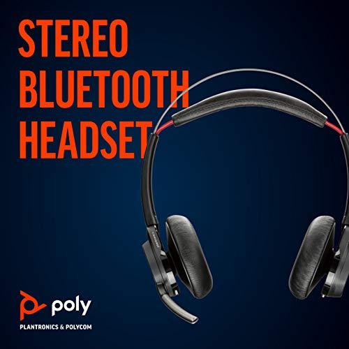 Plantronics Voyager Focus UC B825 - Bluetooth Stereo Headset Black