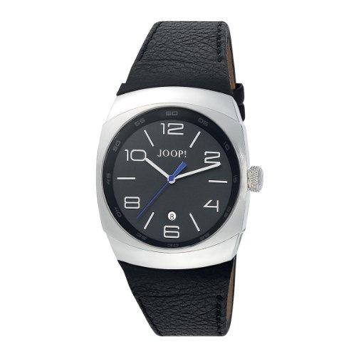 Joop Herren-Armbanduhr XL Odyssey Analog Quarz Leder JP100681F02