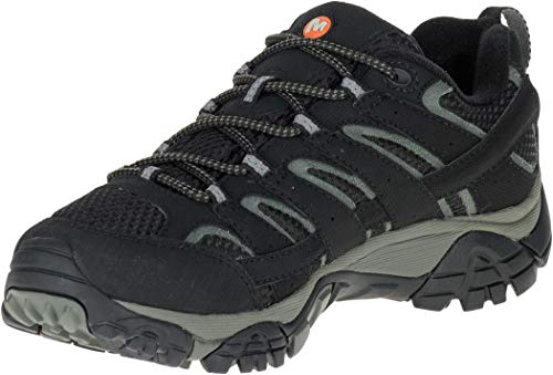 Merrell Women's Moab 2 GTX Hiking Shoe, Black, 9.5 M US