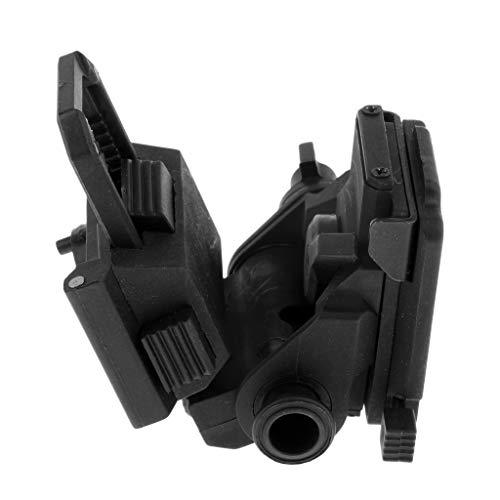 B Blesiya L4-G24 Nachtsichtbrille Halter Für PSV-14 Metall Schnell Mich Taktische Helmhalterung - Schwarz