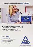 Administrativo/a de la Diputación Provincial de Valencia. Test y Supuestos Prácticos