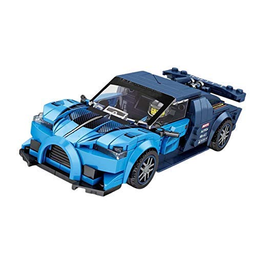 ZSM AOCEAN INGENIERING VEHÍCULO 278PCS Creator Super Racing Building Building Blocks City Sports Racer Speed ​​Champions Winner Bricks Modelo Kit Juguetes para niños YMIK