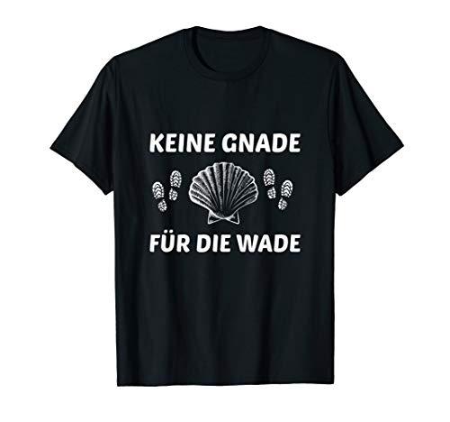 Jakobsmuschel Pilgerweg Wallfahrt Jakobsweg Pilgerwanderung T-Shirt