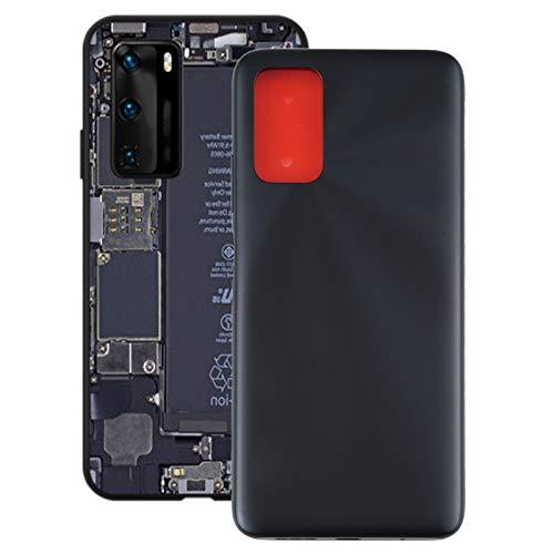 Piezas de repuesto para la ventana trasera Copa de la cubierta de la batería para Xiaomi Redmi Note 9 4G / REDMI 9 POWER / REDMI 9T BATERÍA DE BATERÍA PANTILLA Y PEQUEÑO JUEGO DE HERRAMIENTAS DE REPAR