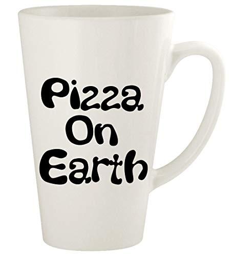 Pizza On Earth - 17oz Ceramic Latte Coffee Cup Mug CP55, White