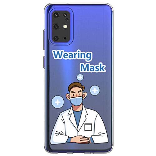 20niay - Carcasa para Samsung Galaxy S20, diseño transparente, silicona y gel TPU, carcasa suave S20, máscara antivirus, ultrafina para Samsung S20 F Talla única