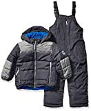 Osh Kosh Baby Boys Ski Jacket and Snowbib Snowsuit Set, Wharf Grey/Bumpercar, 12Mo snow jackets May, 2021