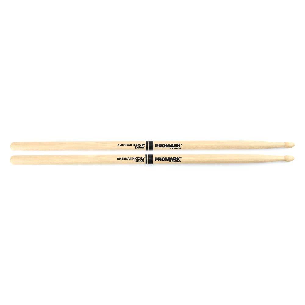 Pro Mark TX5AW - Baqueta (Punta de Madera, Nogal Americano), Madera, 5A: Amazon.es: Instrumentos musicales