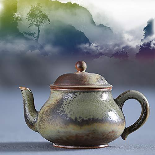 Chinesische Traditionelle Glasierte Keramische Teekanne, Handgemachte Kunstfertigkeit, Brennendes Teeset, Orientalische Sammlerstücke, Passend Für Nachmittagstee, Geschenke Für Freunde Und Familie