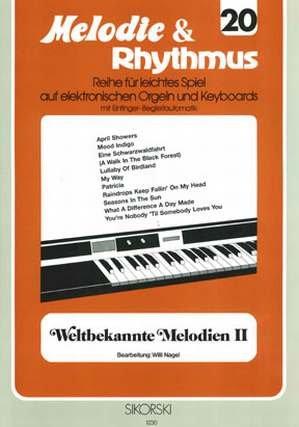 WELTBEKANNTE MELODIEN 2 - arrangiert für Keyboard [Noten / Sheetmusic] aus der Reihe: MELODIE + RHYTHMUS 20