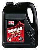 Petro-Canada Supreme 10W-30 Premium Conventional Passenger Car Motor Oil, 4 L