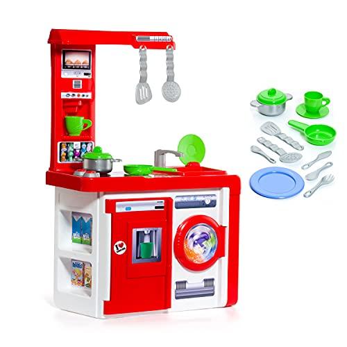 MOLTO | Cocinita de Juguete para Niña y Niño con Electrodomésticos | Juguetes Educativos para...