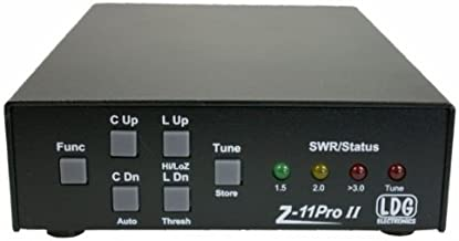 LDG Electronics Z-11PROII Automatic Antenna Tuner 1.8-54 MHz, 0.1-125 Watts, 2 Year Warranty