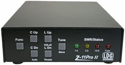 LDG Electronics Z-11PROII Automatic Antenna Tuner 1.8-54 MHz, 0.1-125 Watts, 2 Year Warranty