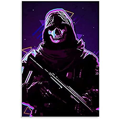 zachking Juego Call Of Duty Black Ops Guerra Fría Pósteres Para Boys Room 13 Póster Pintura Decorativa Lienzo Arte Libre Sala De Estar Pósteres Dormitorio Pintura. 40x60cm Framed