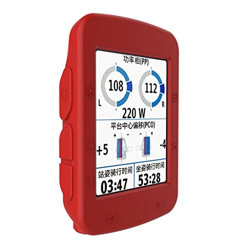 ATATMOUNT Funda de Piel de Silicona Multicolor computadora de Ciclismo Garmin Edge 520 GPS
