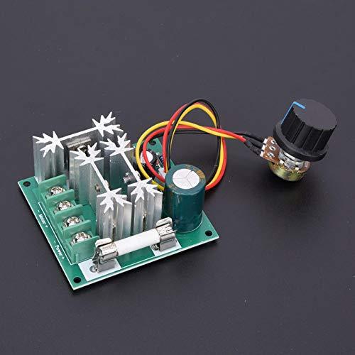 Protección de energía de alta eficiencia 0.01~1000W DC Controlador de velocidad del motor con fusible Regulador de velocidad ajustable para uso industrial