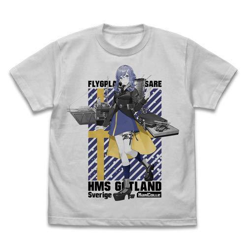 艦隊これくしょん -艦これ- ゴトランド Tシャツ ライトグレイ Mサイズ