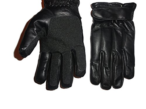 ESG Handschuhe Echtleder Blei & Kevlar Türsteher Security - L