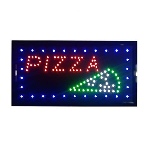 Tablero de anuncios de letrero abierto de negocios LED Pantalla eléctrica Dos modos Luz intermitente y constante para paredes Ventana Tienda bar Hotel