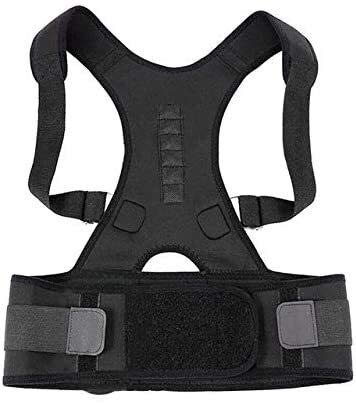 Adjustable Back Support Posture Corrector Posture Corrector for Men and Women,Updated Adjustable Upper Back Brace for Clavicle Support and Providing Pain Relief from Neck, Back and Shoulder(Universal)