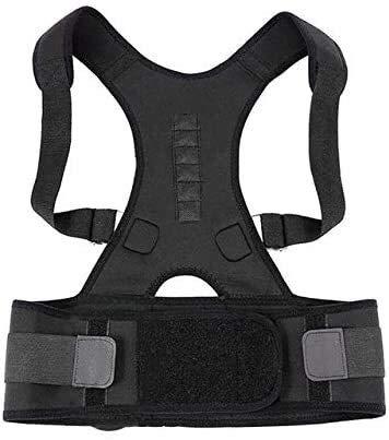 Corrector de postura Corrector de Postura for hombres y mujeres, actualizado superior ajustable del apoyo trasero de la clavícula de las ayudas y proporcionando alivio del dolor de cuello, espalda y h