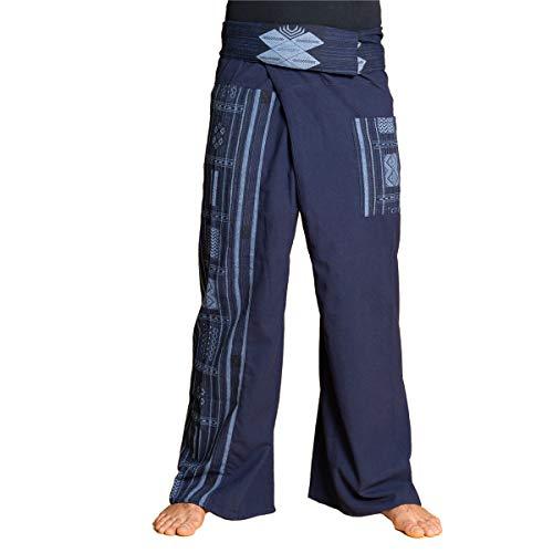 PANASIAM Fisherman Pants Beam, Dark Blue
