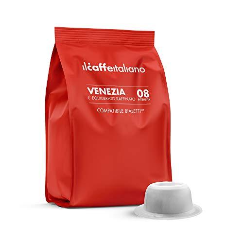 Il Caffè Italiano - Bialetti 100 Capsule compatibili - L'Equilibrato Raffinato Intensità 8 - Frhome