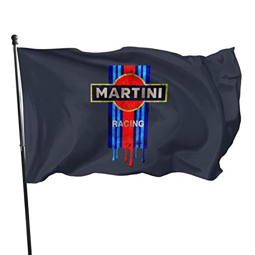 N/F Vintage Martini-Rennflagge, Banner, Flaggen, 91 x 152 cm