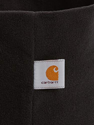 Carhartt Men's Fleece Neck Gaiter, Black, One Size