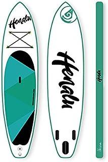 """HENALU Tabla DE Paddle Surf Hinchable - Moana 10´10 x 30"""" x 6"""" Incluye Remo, Mochila, hinchador y quilla."""