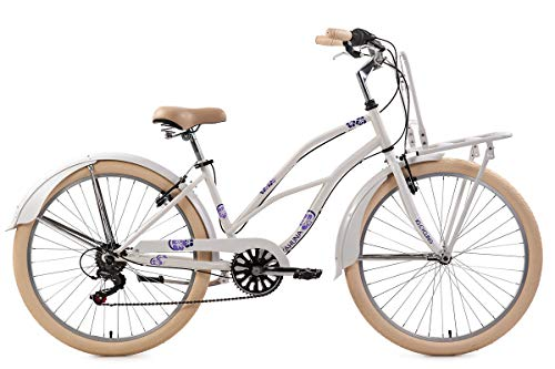 KS Cycling Beachcruiser 26\'\' Kahuna weiß RH 41 cm