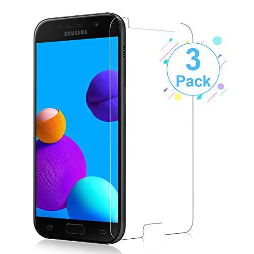 [3 Stück] Panzerglas für Samsung Galaxy A5 2017 Schutzfolie, 9H Härte Glas Folie Anti-Öl Bubble-frei [Ultra-dünn] [Anti-Kratzen] [Anti-Fingerabdruck] Displayschutzfolie für Samsung Galaxy A5 2017