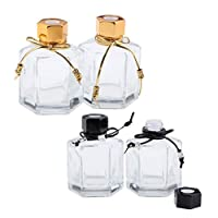 4個 メイクアップボトル 香水ボトル 化粧ボトル コスメ 詰替え容器 旅行小物