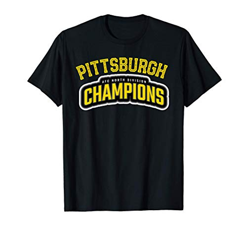 Pittsburgh Football AFC North Champions 2020 Fan Game Gear T-Shirt