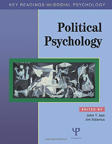Political Psychology: Key Readings (Key Readings in Social Psychology)